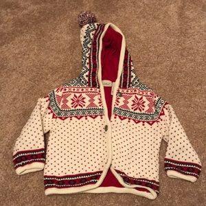 12-18 llbean heavy knit sweater
